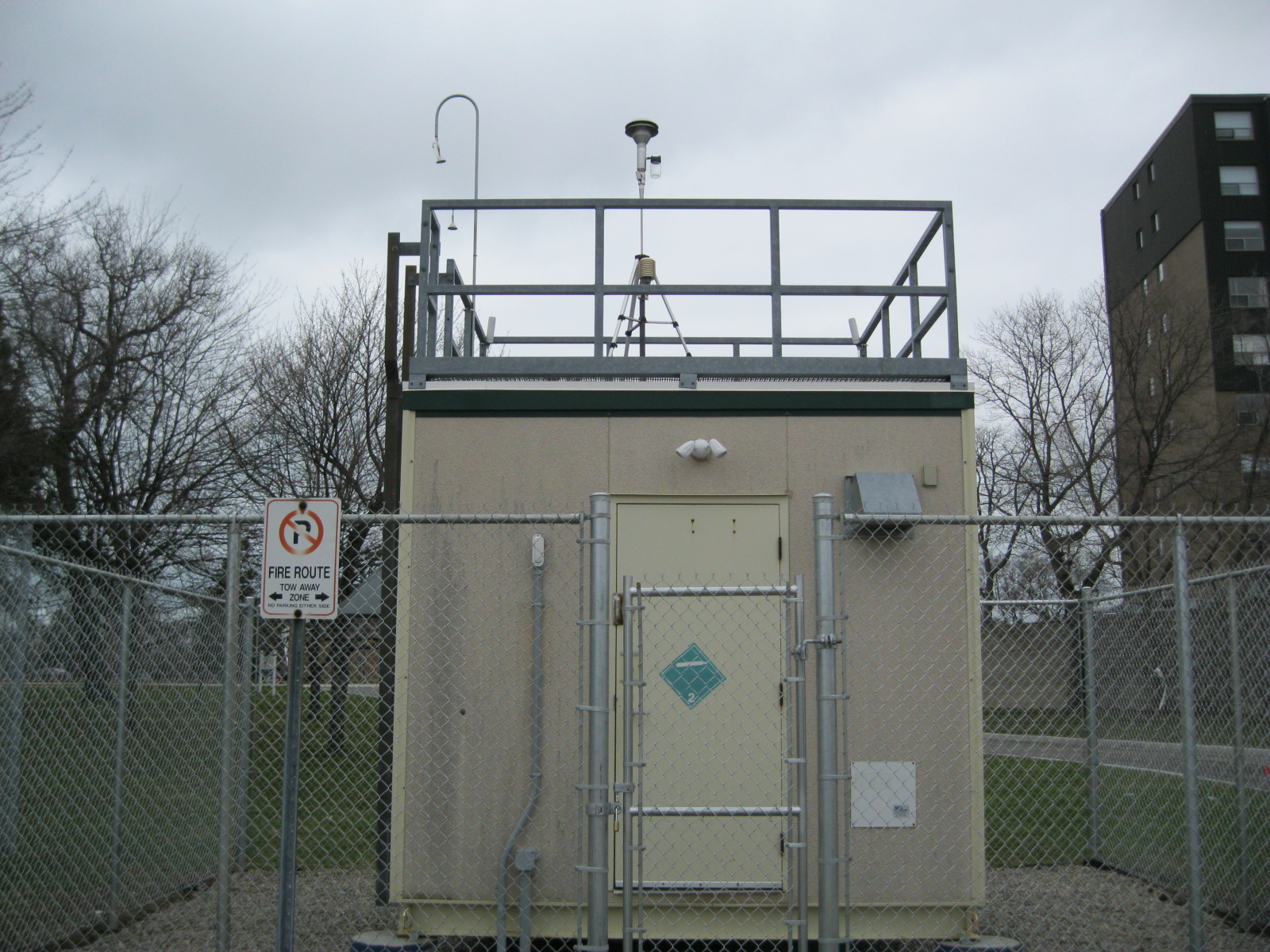 Sarnia Air Monitoring Station